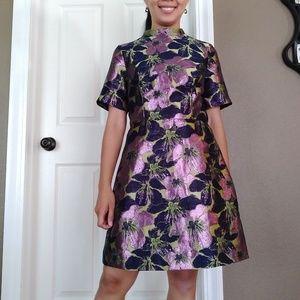 ASOS Jacquard Floral Dress